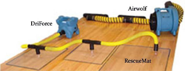 Althouse Restore Wood Floor Drying Systems
